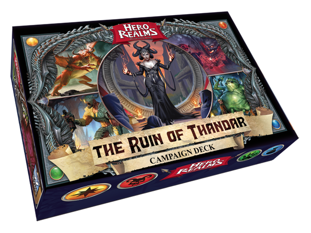 ruin of thandar hero realms deck building game