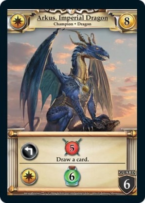 Image result for hero realms dragon card