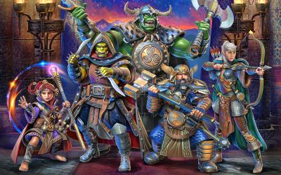 Announcing the Ancestry Pack! Become a Dwarf, Elf, Ogre, Orc, Smallfolk, or Half-Demon – On Kickstarter Soon