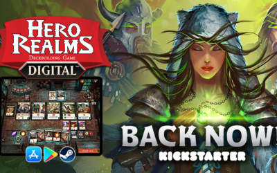 Press Release: Hero Realms Digital Deckbuilding Game Launched on Kickstarter